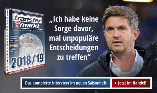 © imago/Transfermarkt - Das komplette Interview mit Ralf Becker lesen Sie im Transfermarkt-Saisonheft 18/19 - jetzt im Handel!