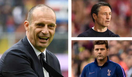 Allegri, Poch & Co. - these well-known coaches are currently without a job