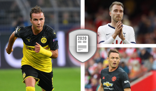 Götze, Eriksen & Co. - the most valuable players with expiring contracts