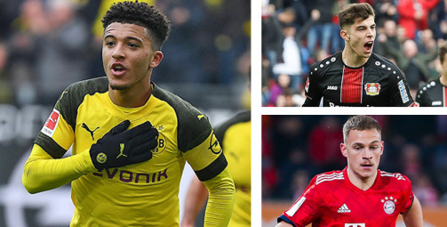 Most valuable players in the Bundesliga in the gallery