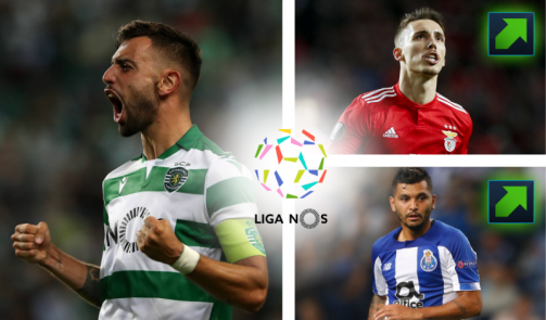 Fernandes, Telles & Co. - the most valuable Liga NOS players