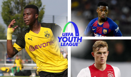 Gallery: Youth League`s youngest goal scorers