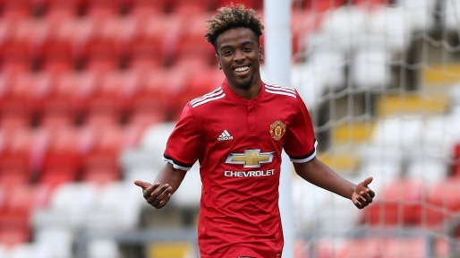 The 20-year old son of father (?) and mother(?) Angel Gomes in 2021 photo. Angel Gomes earned a  million dollar salary - leaving the net worth at  million in 2021