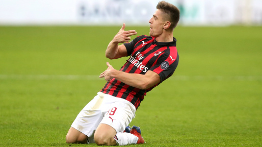 Image result for ac milan piatek 2019-2020