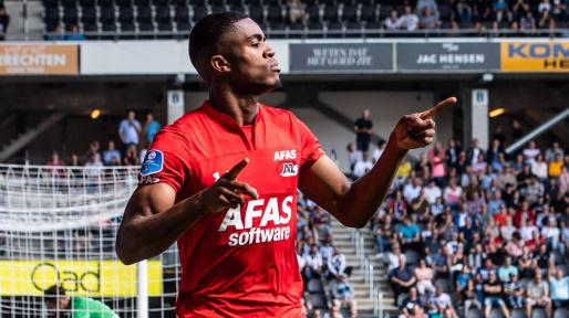 © imago / Sechs Scorerpunkte in sieben Profispielen für Alkmaar: Myron Boadu