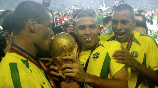 """© imago / Weltmeister 1994 und 2002 mit Brasilien: """"El Fenômeno"""" Ronaldo"""
