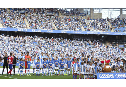 Anoeta Stadion von Real Sociedad San Sebastian