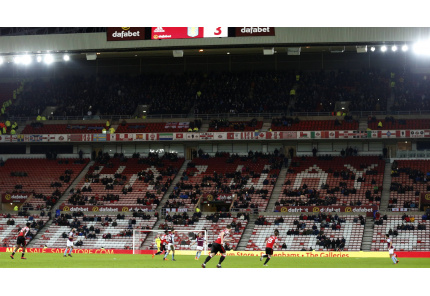 Das Stadium of Light des AFC Sunderland