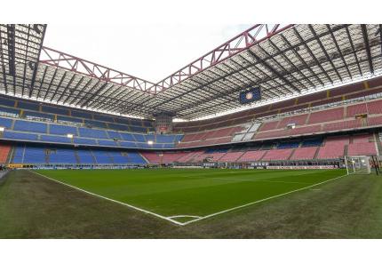 Giuseppe Meazza, Stadion Mailand