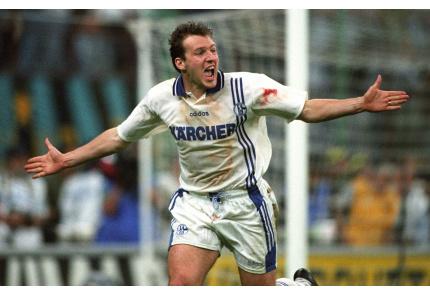 Marc Wilmots Schalke Uefa Cup Finale 1997