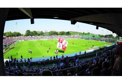 Stadion Würzburger Kickers innen