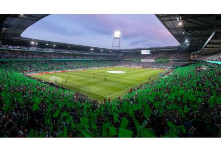 Weserstadion, Werder Bremen