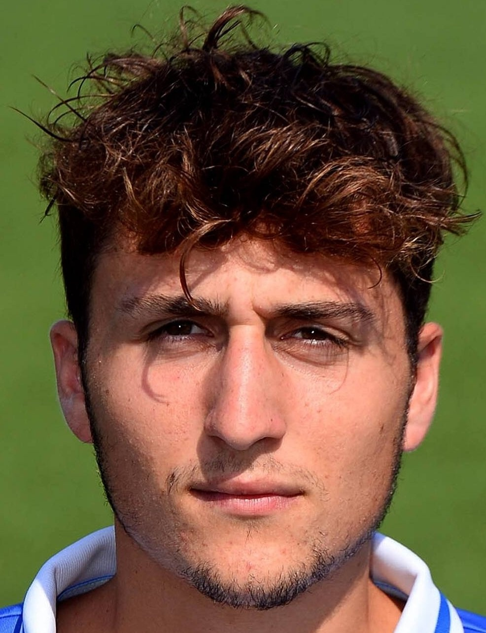 The 22-year old son of father (?) and mother(?), 180 cm tall Leonardo Morosini in 2018 photo