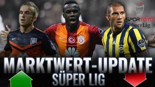 Marktwert-Update Süper Lig: Bruma und Visca legen zu