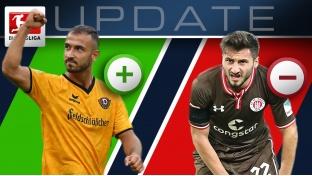 Marktwert-Update 2.Bundesliga: Gogia mit Plus - Sahin fällt
