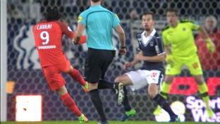 Cavanis Traum-Volley bringt PSG auf Kurs