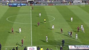 Inter Mailand gegen Cagliari in Torlaune
