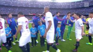 Messi-Doppelpack gegen Sevilla