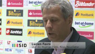 Gladbach: Favre zur Kaderplanung