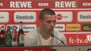 PK: Podolskis Wechsel zum FC Arsenal