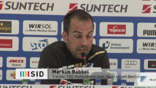 Babbel zum Wiese-Transfer & zum Hertha-Spiel