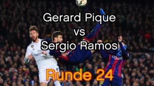 Schlüsselduell im Clasico: Piqué vs. Ramos