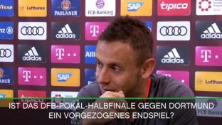 Rafinha über den Pokalkracher gegen Dortmund