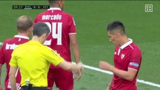 Rotzfrecher Real-Freistoß zum 1:0 gegen Sevilla