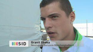 Gladbachs Xhaka: Champions League ist das Ziel