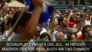 Balkon-Party: Ramos und Ronaldo tonangebend