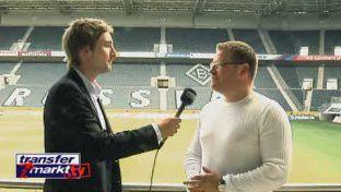 Manager Max Eberl (Borussia M'gladbach) im Interview