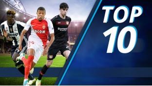 Die jüngsten Torschützen der Top 5-Ligen
