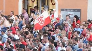 Regensburg feiert den Aufstieg