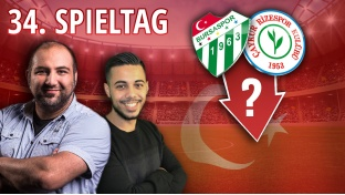 Süper Lig-Highlight: Wer steigt ab? Bursaspor oder Rizespor?