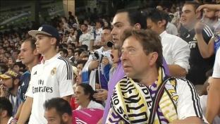 Ausnahmezustand! Real-Fans feiern im Bernabeu
