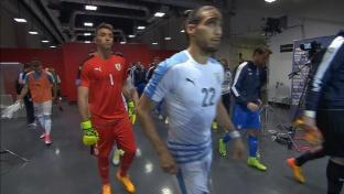Highlights: Italien überzeugt gegen Uruguay
