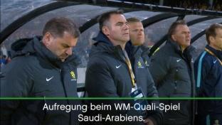 WM-Quali: Skandal! Saudis verweigern Gedenken