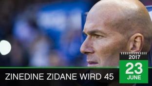 Born This Day: Zidane feiert 45. Geburtstag
