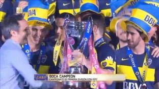 Argentinien: Boca feiert 32. Meisterschaft