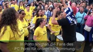 FC Porto: Riesen-Party bei Trikot-Präsentation
