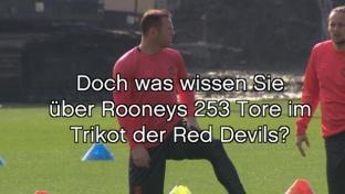 Tore, Tore, Tore! Das große Rooney-Quiz