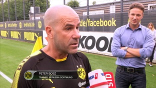 Bosz über Götze, Guerreiro-Aus und BVB-Fans