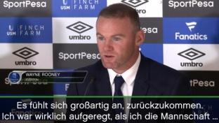 Rooney gespannt: