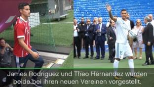 So geht's: James zeigt Theo das Jonglieren