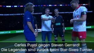 Star Sixes: Gerrard, Deco und Co. sind zurück