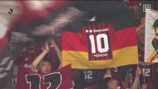 Podolski Traum-Debüt mit Doppelpack für Vissel Kobe