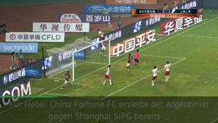 CSL: Lavezzi mit Hammer-Treffer für Hebei FC