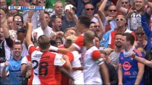 Jensen-Traumtor schockt Feyenoord nur kurz