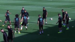Nach Sperre! Ronaldo gibt Vollgas im Training