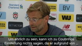 Klopp: Streik? Coutinho hat Rücken ...